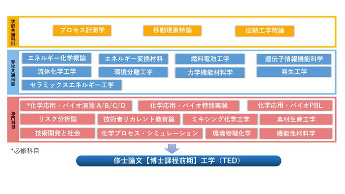 エネルギー化学教育分野(TED)